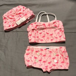 Janie and Jack two piece swimsuit 6-12 months